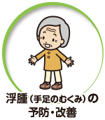 浮腫(手足のむくみ)の予防・改善